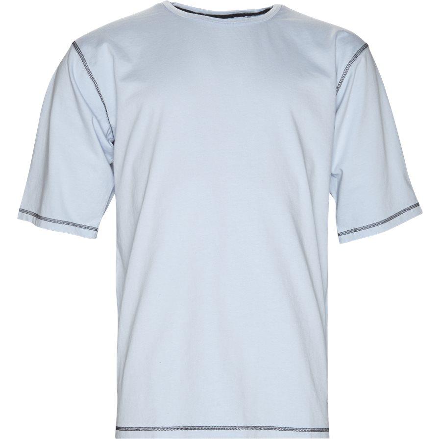 METZ - Metz - T-shirts - Loose - L BLÅ - 1